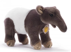 PLUSH & COMPANY Staffle Tapiro L 30 Cm Animale Bosco Peluches Giocattolo 583