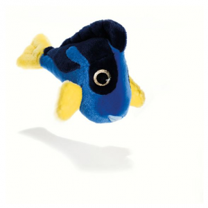 PLUSH & COMPANY Achantyl Pesce Blue 18 Cm L Animale Acquatico Peluches 664