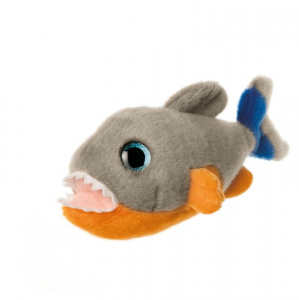 PLUSH & COMPANY Pygo Piranha Big Eyes 18 Cm L Animale Acquatico Peluches 338