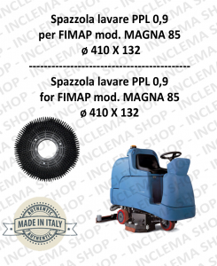 MAGNA 85 spazzola lavare PPL 0,9 per lavapavimenti FIMAP