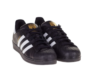 SNEAKERS ADIDAS SUPERSTAR FOUNDATION B27140 BLACK/WHITE