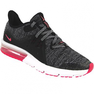 SNEAKERS NIKE AIR MAX SEQUENT 3 (GS) BLACK/WHITE-RACER PINK 922885-001