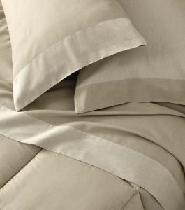 Set lenzuola matrimoniale 2 piazze Gabel MARE naturale puro cotone