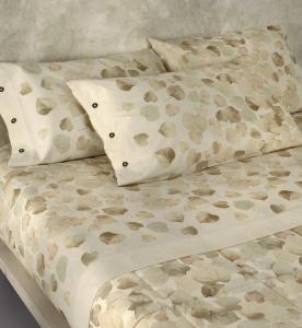 Set lenzuola matrimoniale 2 piazze Gabel ARGILLA naturale puro cotone