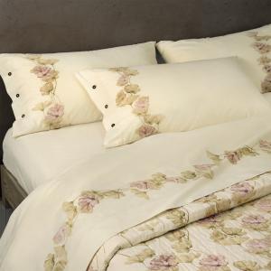 Set lenzuola matrimoniale Flanella Gabel in caldo cotone KARITE' bosco