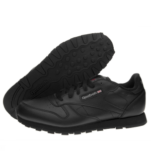 SNEAKERS REEBOK CL LTHR MEN BLACK 2267