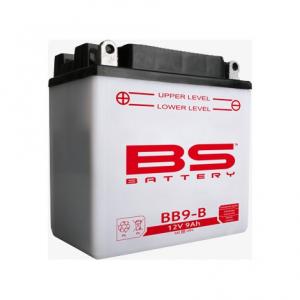BATTERIA BS BB9-B CON ACIDO PER MOTO SCOOTER  246600155