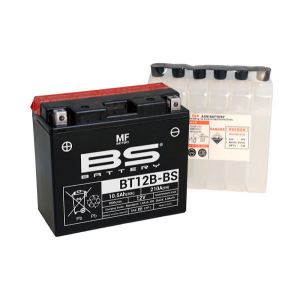 BATTERIA BS BT12B-BS CON ACIDO PER MOTO SCOOTER  246610125