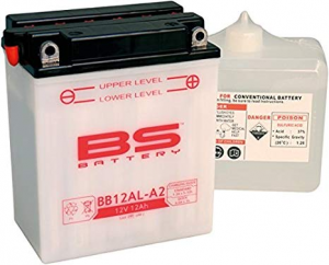 BATTERIA BS BB12AL-A2 CON ACIDO PER MOTO SCOOTER  246600275