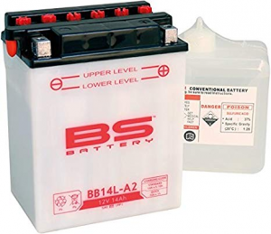 BATTERIA BS BB14L-A2 CON ACIDO PER MOTO SCOOTER  246600435