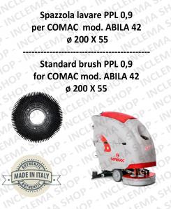 SPAZZOLA LAVARE ppl 0,9 per lavapavimenti COMAC mod. ABILA 42