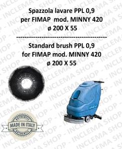 SPAZZOLA LAVARE  per lavapavimenti FIMAP modello MINNY 420 PPL 0,9