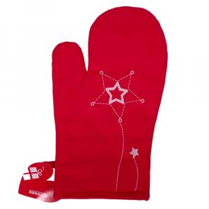 Guanto da forno Bassetti Shining Star stella rossa Natale