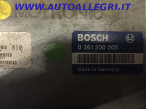 ECU Centralina motore BOSCH PEUGEOT 405 0261200205, 0 261 200 205