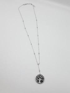 Collana Donna in argento con ciondolo albero della vita, vendita on line | GIOIELLERIA BRUNI Imperia