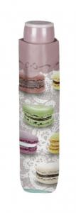 Ombrello Donna Mini Beige con stampa Macarons cm.diam.97