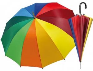 Ombrello Golf Automatico Donna Multicolor cm.65x diam.113