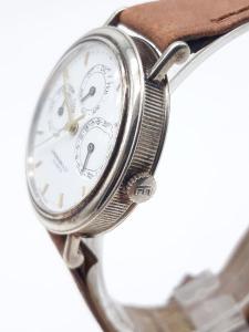 Orologio Uomo Eberhard Les Quantiemes calendario completo in argento 925 movimento al quarzo, vendita on line | OROLOGERIA BRUNI Imperia