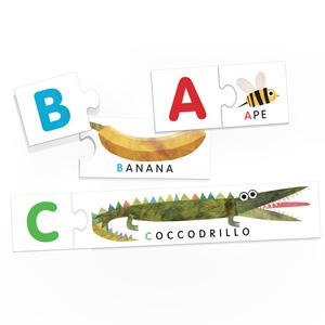 Montessori Alfabeto tattile