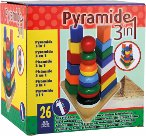 Piramide «3 in 1»