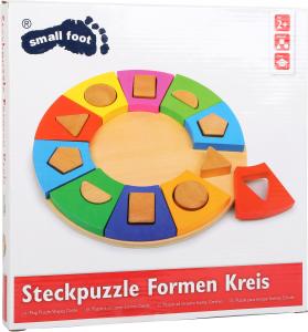 Puzzle ad incastro forme, Cerchio