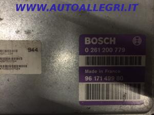 ECU Centralina Motore Bosch Citroen ZX 0261200779, 0 261 200 779, 9617149980