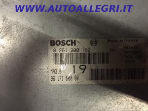 ECU Centralina Motore Bosch Peugeot 106 Citroen AX 1.0 0261200780, 0 261 200 780, 9617150080