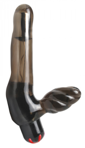 FETISH FANTASY Strap-on sexy toys a batteria lunghezza 11-23 cm diametro 4 cm