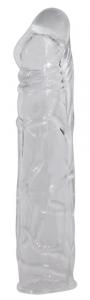 CRYSTAL Guaina per il pene sexy toys lunghezza 16 cm diametro 2,5 cm