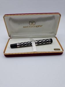 Penna stilografica in argento e ebano Settelaghi, vendita on line | GIOIELLERIA BRUNI Imperia