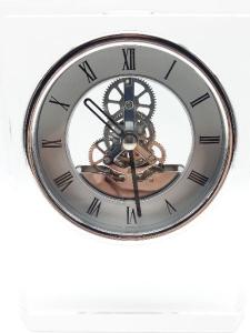 Orologio al quarzo da scrivania in cristallo vendita on line | BRUNI GIOIELLERIA