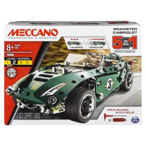 MECCANO SET PULL BLACK CAR 6040176 SPIN MASTER new