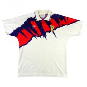 1991-93 Scozia MAGLIA AWAY XL