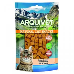 ARQUIVET Cubetti di pollo snack per gatto in formato sacchetto