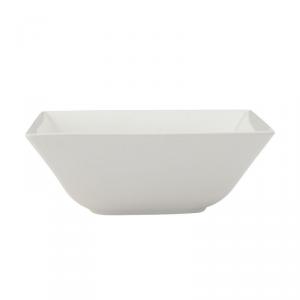 MAXWELL & WILLIAMS Linear ciotola quadrata da tavola di colore bianco 15cm