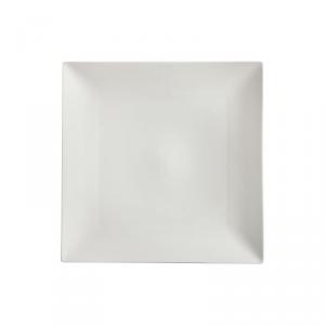 MAXWELL & WILLIAMS Linear piatto quadrato da tavola di colore bianco 30cm
