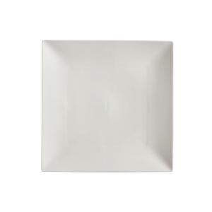 MAXWELL & WILLIAMS Linear piatto quadrato da tavola di colore bianco 26cm