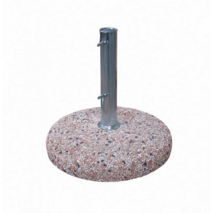 Bizzotto Base Cement 50 Mm 35 Kg In Steel With Marble Basement