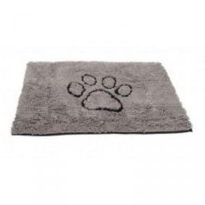 DOG GONE SMART Tappeto dirty dog accessorio per il cane con stampa zampa grigio