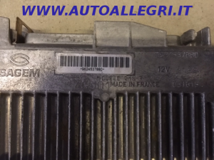ECU CENTRALINA MOTORE SAGEM CITROEN ZX 1.6 8V, 9624537880
