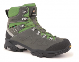 982 QUAZAR GTX - Hikingschuhe - Grey/Acid Green