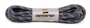 ZAMBERLAN® ROUND LACES - Grey / Red
