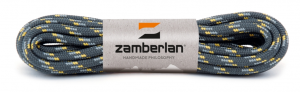ZAMBERLAN® ROUND LACES - Grey / Yellow