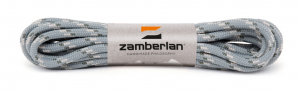 ZAMBERLAN® ROUND LACES   -   Grey / White