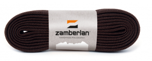ZAMBERLAN® FLAT LACES  -   Dark brown