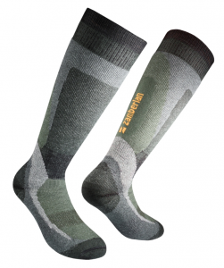 SOCKEN ZAMBERLAN® THERMO FOREST HIGH - Lange- Green