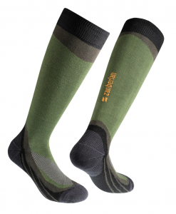 TREKKING SOCKS ZAMBERLAN® FOREST HIGH - Knee Lenght - Olive Green