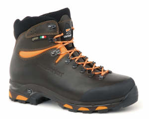 1022 JACKRABBIT GTX RR WIDE LAST - Botas de Caza - Dark Brown/Orange