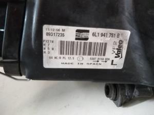 Proiettore anteriore sx usato originale Seat Ibiza serie dal 2001 al 2009