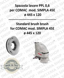 SPAZZOLA in LAVARE PPL 0,6 per lavapavimenti COMAC mod. SIMPLA 45E